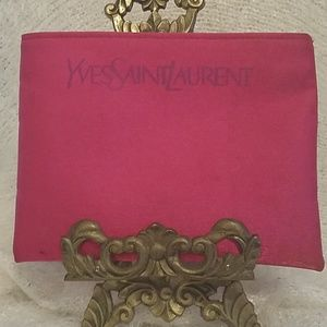 Yves Saint Laurent small cosmetic bag